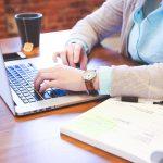 最初の訓練「ブログを書く」でした!